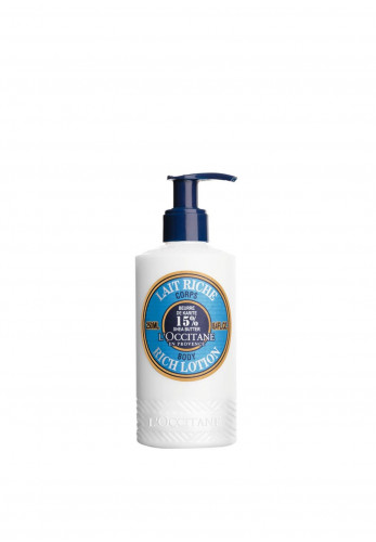 L'Occitane Shea Butter Rich Body Lotion, 250ml