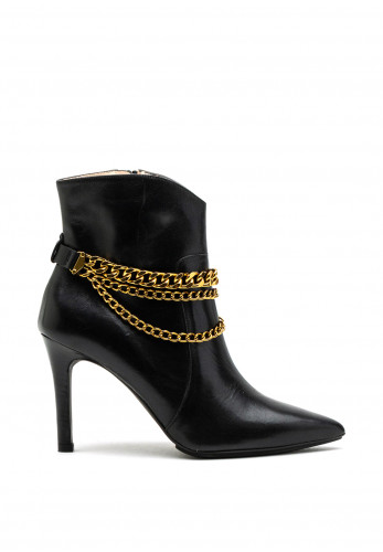 Lodi Rebies TP Leather Ankle Boot, Black
