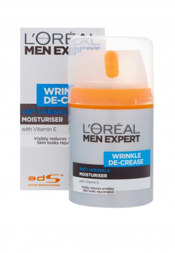 L'Oreal Men Expert Anti-Wrinkle Moisturiser with Vitamin E, 50ml