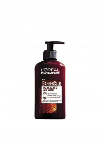 L'Oreal Barber Club Beard, Face & Hair Wash
