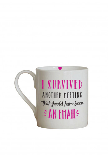Love the Mug 'I Survived Another Meeting' Mug