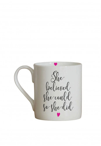 Love the Mug 'She Believed' Mug