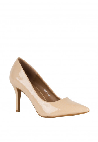 Lunar Yolanda Heel Court Shoes, Beige