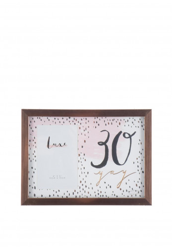 Widdop Luxe Photo Frame, 30 Yay