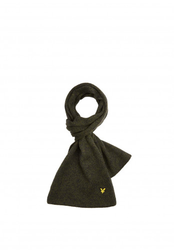 Lyle & Scott Mouline Woodland Green Scarf