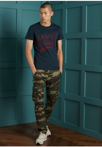 Superdry Re-Worked Classic T-Shirt, Rich Navy