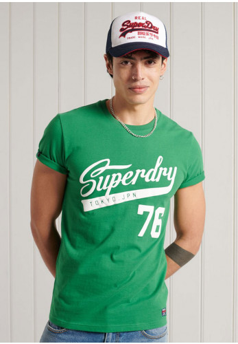 Superdry Collegiate Graphic T-Shirt, Green