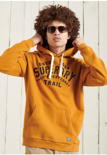 Superdry Heritage Mountain Graphic Hoodie, Yellow