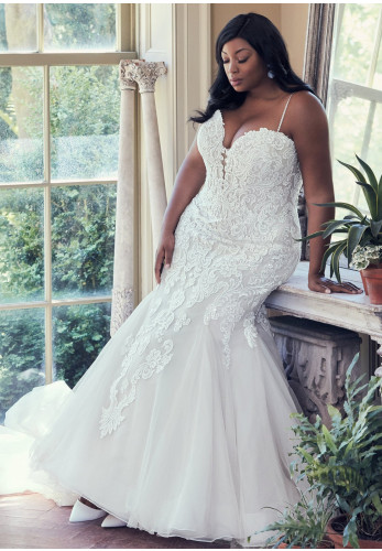 Maggie Sottero Plus, Allistaire Lynette Wedding Dress