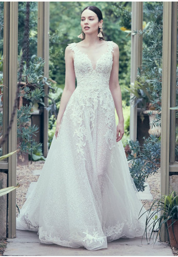 Maggie Sottero Carmella Wedding Dress, Ivory