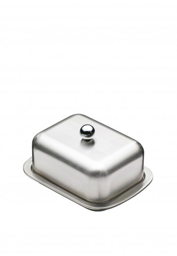 Master Class Insulated Butter Dish, Silver