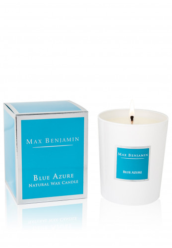 Max Benjamin Blue Azure Natural Wax Candle 190g