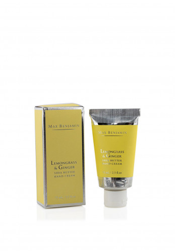 Max Benjamin Shea Butter Hand Cream, Lemongrass & Ginger