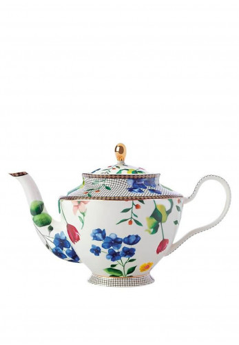 Maxwell & Williams Teas & C's Contessa Teapot with Infuser 1 Litre, White