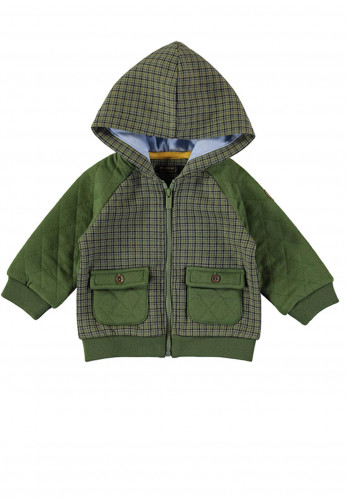 Mayoral Baby Boys Checked Sweater, Green