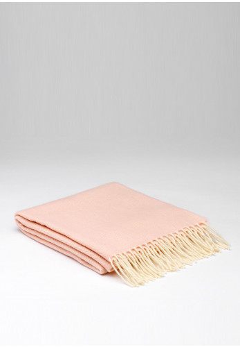 Mc Nutt of Donegal Cashmere Scarf, Soft Pink