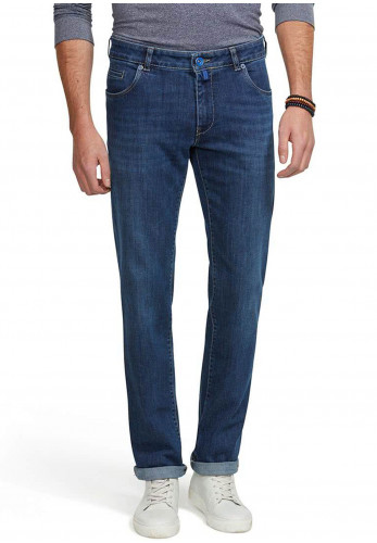 M5 by Meyer Regular Fair Trade Jeans, Denim Blue