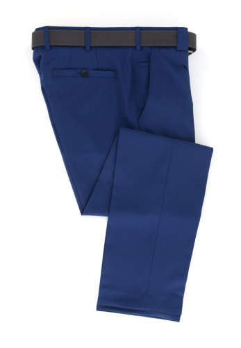 Meyer Roma Super-Stretch Formal Trousers, Navy