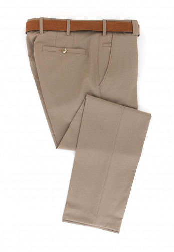 Meyer Roma Super-Stretch Formal Trousers, Brown