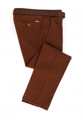 Meyer Mens Roma Trousers, Rust