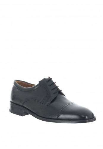 Mezlan Galway Leather Formal Shoes, Black