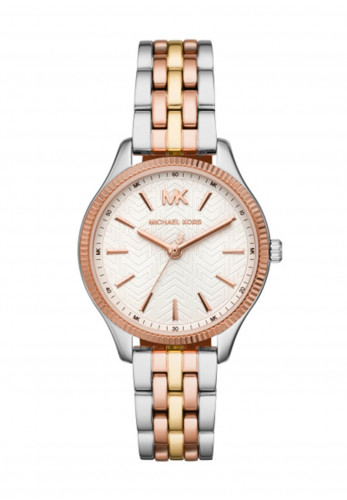 MICHAEL Michael Kors 3 Tone Watch, Silver