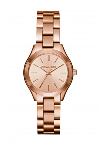 Michael Kors Mini Slim Runway Watch, Rose Gold