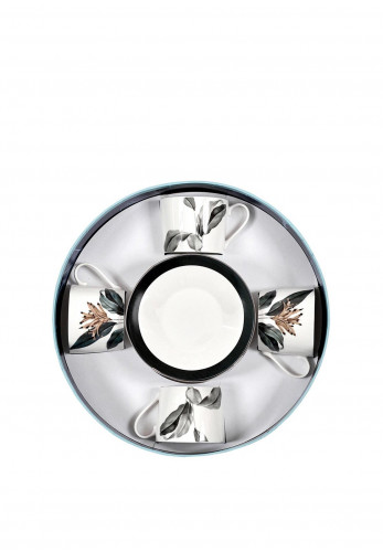 Mindy Brownes Birds of Paradise Cappuccino Set of 4