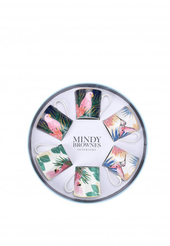 Mindy Brownes Tropical Cups Set of 6