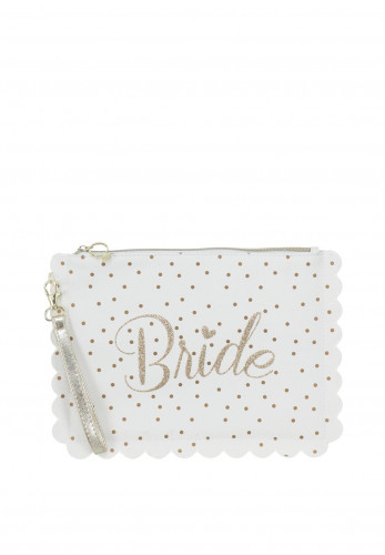 Widdop and Bingham Bride Makeup Pouch