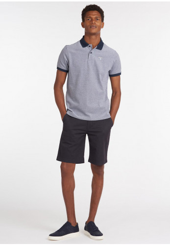 Barbour Sports Polo Shirt, Midnight Navy