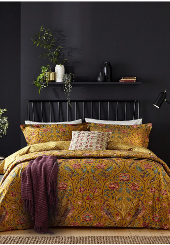 Morris & Co. Seasons by May Duvet Cover, Saffron