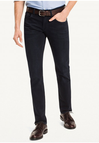 Tommy Hilfiger Denton Straight Fit Jeans, Blue Black