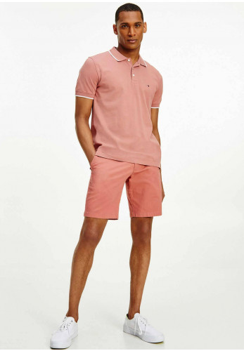 Tommy Hilfiger Basic Tipped Polo Shirt, Mineralize