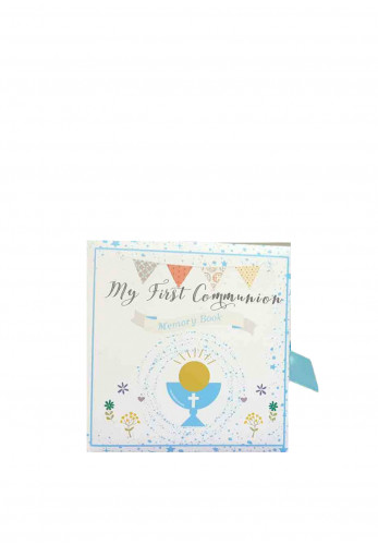 My First Holy Communion Memory Book, Boy