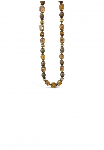 Absolute Champagne Sparkle Bead Necklace, Rose Gold