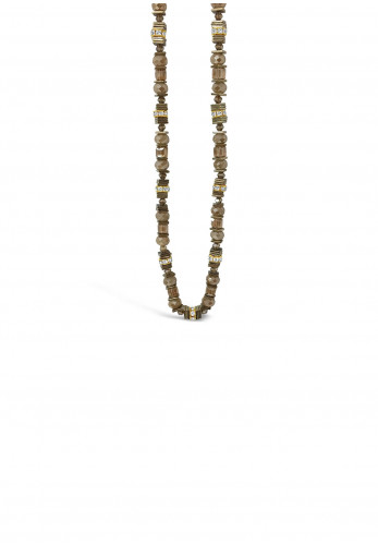 Absolute Champagne Bead Necklace, Rose Gold
