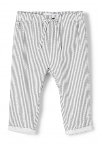 Name It Baby Boys Filur Striped Trousers, Navy