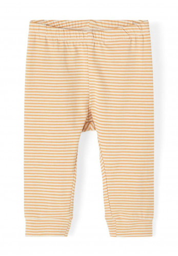 Name It Baby Boys Fipan Striped Leggings, Orange
