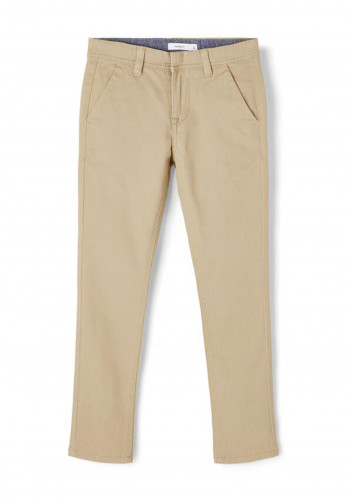 Name It Boys Robin Twice Town Chino Trouser, Beige