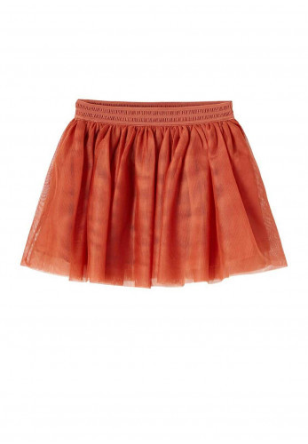 Name It Mini Nutulle Tulle Skirt, Etruscan Red