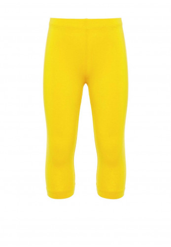 Name It Girls Vivian Capri Leggings, Bright Yellow