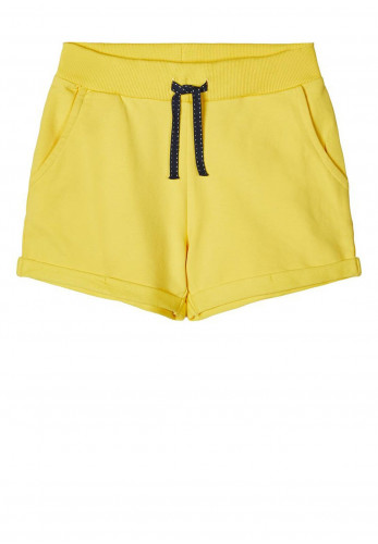 Name It Boys Volta Sweat Shorts, Yellow
