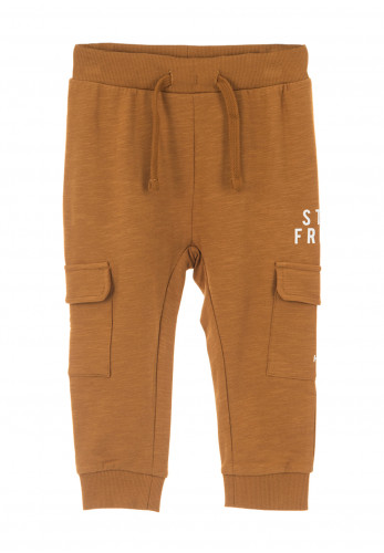 Name It Baby Boys Lajan Sweatpants, Bronze