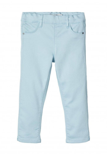 Name It Girls Polly Jeggings, Sky Blue