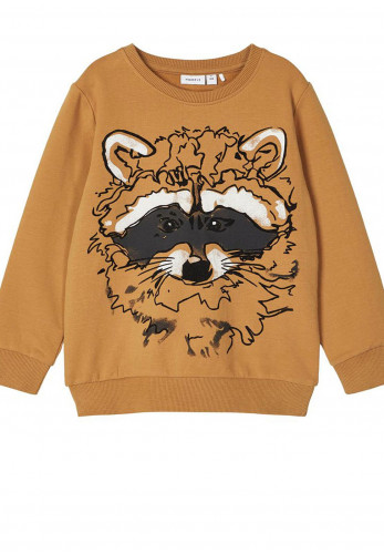 Name It Mini Girls Sacoona Jumper, Brown