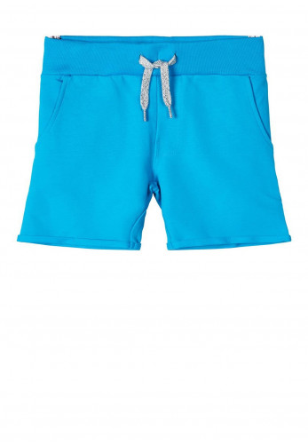 Name It Mini Boys Vermo Long Sweat Shorts, Blue