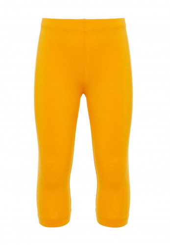 Name It Mini Girls Vivian Capri Legging, Yellow