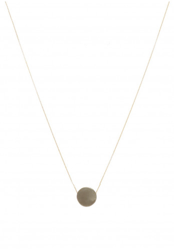 McElhinneys 9ct Disc Necklace, Gold