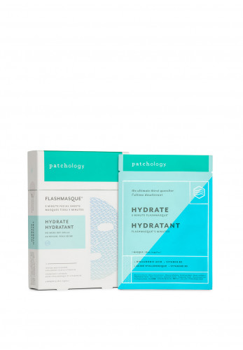 Patchology Flash Masque Hydrate The Ultimate Thirst Quencher 4 Pack